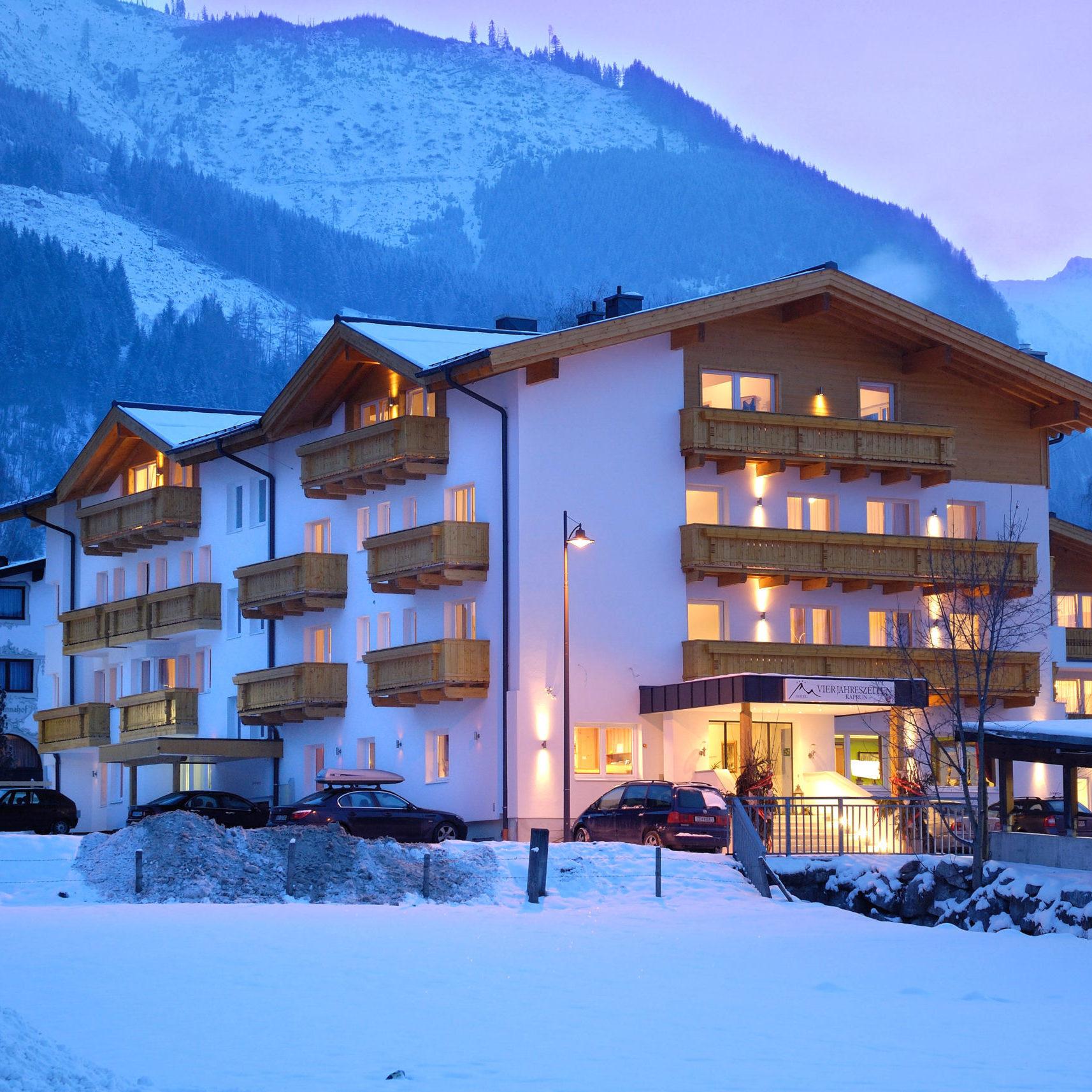 skiën hotel